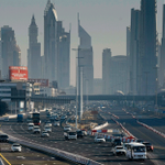 First pictures: Traffic diverted on Shaikh Zayed Road: http://t.co/SGn4IHU0fo #Dubai #SZR http://t.co/iSs8m7njTJ