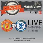 Event: Grand match view Manchester United v Chelsea @ Neo Damansara tomorrow. Jom!! http://t.co/JIbVVt9mh4