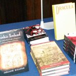 RT @inkwellHQ: The wonderful @gutterbookshop are our @bramstokerdub bookshop #bitemedublin. Beautiful editions of #Dracula http://t.co/DNS6Tbok5c