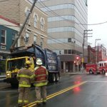 """Power off in downtown St. John""""s & traffic diverted on Duckworth @cecilhaire #cbcnl http://t.co/VQrn67SjT5"""