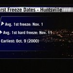 RT @jakewhnt19: The next few days will be warm, but our first freeze may arrive in about 7 days: http://t.co/8jfK3zFq35 #valleywx http://t.co/WHmGUduc0o