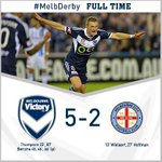 FT! What a night. What a win! #MelbDerby http://t.co/Ci7NHXkKPB