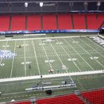 Gameday @GSUPanthers fans. Field is ready. Team is ready. R U? #AllBlueAllIn #PantherFamily #StateNotSouthern. http://t.co/MKnonPnuCc