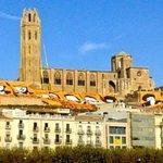 Lleida sha llevat recordant el nostre missatge al món. Els catalans votarem el 9N! Ara és lhora! #CatalansVote9N http://t.co/I4nPiQ7f4v