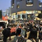 原宿 神宮前交差点を通過。 #SASPL http://t.co/HNE3r60V7d