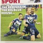Huge night at Docklands for @gomvfc at Docklands. #ALeague. Second edition cover. http://t.co/sG2pVkSYxW