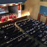 En estos momentos da comienzo la ponencia: Hermandades; historia y tradición: un reto para la comunicación #JOHC2014 http://t.co/X9yhyWiRWw