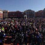 Unas 7.000 personas han acudido en apoyo a los moteros http://t.co/nwsRJwAYLq