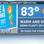 We could not have more perfect wx for #MDDAY!Sunscreen and H2O are a must. @9News @mdday http://t.co/kaCr6KvG0B
