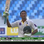 RT @NadeemAkhtarSo1: Congrats to Younis Khan, again 100, against second inning Australia, http://t.co/CMHdUoxB7T