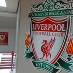 RT @LFC: Inside the Anfield tunnel ahead of todays 3pm kick-off... http://t.co/D2NrEloLpE