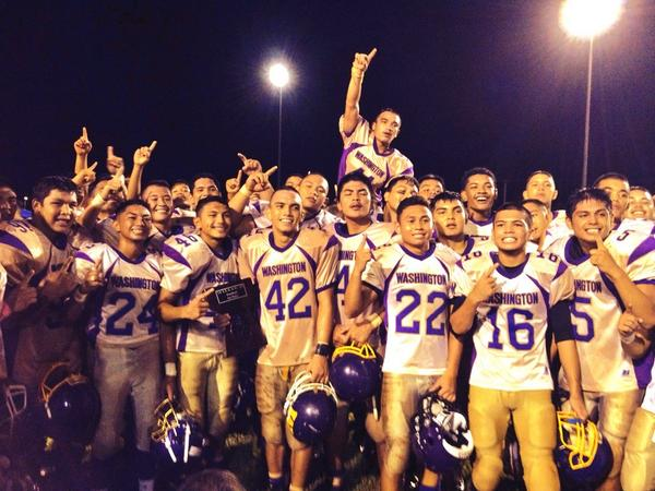 PNC Sports: 2014 IIAAG Football Champions, The George Washington Geckos! http://t.co/w6y2V5CtfD
