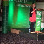 Youth leadership to the fore @Farrell_Mairead speaking in her role standing and winning elections in Galway. http://t.co/JP6zoWJI93