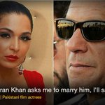 Meera expresses her willingness to marry PTI Chairman Imran Khan. http://t.co/1uu25R6DcI http://t.co/rMwCEHtOgY