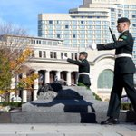 RT @Army_Comd: Honoring our fallens, we are back on watch at the War Memorial #StrongProudReady http://t.co/dgSWFA5Xf6