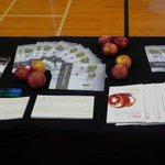 RT @MHyphenE: Apples and @dalagriculture viewbooks are here for the taking! #dalopenhouse http://t.co/gn0NsNuFGI