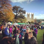 RT @visitlincoln: A busy Lincolnshire Sausage Festival in Lincoln Castle today. From Instagram: http://t.co/DD1aXRoOJz http://t.co/2BkYbobCvc