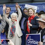 Momentum is with us! Thanks to Mayor McCallion for joining me & over 250 residents for a great rally today #misspoli http://t.co/TnQlFWMcP8