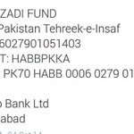 RT @SeharSaleem007: #FundNayaPakistan Imran Khan is struggling for us, lets play ur part to help him....!!! http://t.co/05PxzzR1AB