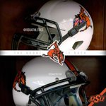 RT @OSUAthletics: A closer look at #OKState's Bronc Rider helmets for today's Homecoming game. #OKStateHC #OSUniTracker http://t.co/bFDuwhUANn