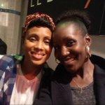 """RT @jesuisNIL: @Imanyofficiel 1femme en OR tjrs à lécoute des autres Super moment au BHV pour """" Equal For All """" belle initiative :) http://t.co/hcKhUlfjaE"""