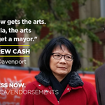 MP Andrew Cash is a champion for Toronto and for the arts. Great to have his support. #Olivia4Mayor #TOpoli @Cash4TO http://t.co/ExvtroFSmp