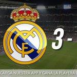 RT @SoyFan10: ¡TERMINA EL PARTIDO EN EL SANTIAGO BERNABÉU Y EL REAL MADRID VENCE AL BARCELONA! #HalaMadrid http://t.co/Oo7DGWizGw