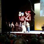 """Los directores de """"Nuestro último verano en Escocia"""" recogen el Premio del Público de la #59Seminci http://t.co/TbbMhRLgyH"""