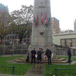 RT @CTVVancouver: People stand guard at the Vancouver Cenotaph to honour Cpl. Nathan Cirillo http://t.co/U7IOSn4TpS