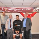 Well done to Giuseppe sole 100th goals for @wokingfc ! #legend #FACup http://t.co/Bo3bV2WB6C