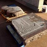 Car smashes Ten Commandments statue, driver told police that Satan told him to do it. http://t.co/grhERgKSnU http://t.co/7YSBT3TZMW