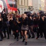 RT @VisitDublin: Goths vs Zombies take to the streets at Stephens Green-time for a dance off! @bramstokerdub @DublinTown #LoveDublin http://t.co/mmoZrLEomW