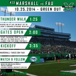 RT @HerdZone: Heres a look at todays schedule! Show your support for #TheHerd and help #ProtectTheM! http://t.co/iJHnHwuQSK
