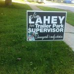 RT @GordLeclercCTV: I may have voted differently had I seen this lawn sign prior to casting my ballot. #trailerparkboys #wpg14 http://t.co/pI5sJUS0eX
