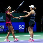 RT @WTA: Black/Mirza save 3 match points to make #WTAFinals doubles final! Play Peng/Hsieh next--> http://t.co/5s8VNQBW1H http://t.co/ZBkuu…
