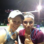 RT @WTA: Double the trouble... Cara Black & @MirzaSania are into the finals! #WTAFinals #TwitterMirror #tennis http://t.co/Cy05NjLsn6