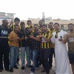 صورة جماهير #الاتحاد اﻵن قبل دخولها الى مدرجات ملعب الملز http://t.co/KZUWjKQYLf