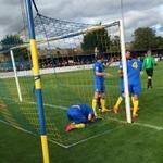RT @BASINGSTOKE_FC: GOAL! Basingstoke 1-0 Harrow (Enver-Marum 12 mins) #bbcfacup http://t.co/PaUey3Nip1