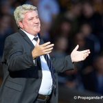 RT @propagandaphoto: Steve Bruce plays along with the Kop as they sing Hes got a big fat head #LFC #LFCvHULL http://t.co/UEW2PL9onK