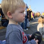 At the Mizzou homecoming parade with my family. My little mans first parade! #MizzouHomecoming #gotigers http://t.co/mXvOA7erWP