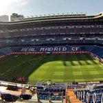 #CarruselClásico PRECIOSO el Santiago Bernabéu. Increíble día para la práctica del balompié (vía @LluisFlaquer) http://t.co/zSzgVEGGu3