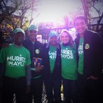 RT @Benkcase: Devoted pros @ Columbia heights community center early voting precinct in Ward 1 4 team @MurielBowser. #all8wards http://t.co/vDddd4sBoq
