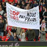 RT @Awaydays23: Liverpool protesting about Ticket Prices at home to Hull City today #LFC #YNWA #AMF http://t.co/3DOwW2A8xB