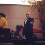 RT @Dave_Matter: Mizzou chancellor @bowtieger at his first homecoming parade http://t.co/tFTbl42uhD