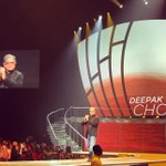 RT @Feferang: Love that @DeepakChopra is taking the stage! #LifeYouWantMIA tour