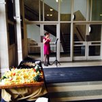 RT @FionaAtDal: The wonderful Claire Ahern serenading at the reception for parents #dalopenhouse with her flute. http://t.co/qXhw9FgTtu
