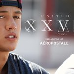 New #UnitedXXVI Collection designed by Nash, Cam, Hayes & Carter is out now at Aero stores & http://t.co/kWDGyPS1Nr http://t.co/3GipsSfmd0