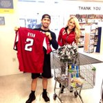 RT @mishell014: Congrats to our @TailgateTeams Supermarket Sweep winner who finished in 33 seconds! #RiseUp http://t.co/sVVVKPGFvE