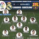RT @DiarioBernabeu: XI OFICIAL #REALMADRID: Casillas, Carvajal, Pepe, Ramos, Marcelo, Kroos, Modric, Isco, James, Cristiano y Benzema. http://t.co/JRFDq7H94R