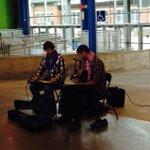 Good vibrations at the @HfxSeaportMrkt http://t.co/B67KkcmziW